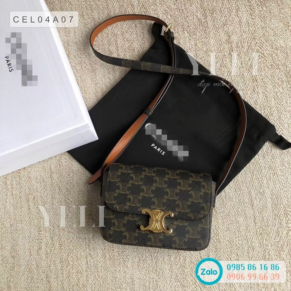 [ORDER] Celine triomphe canvas bag