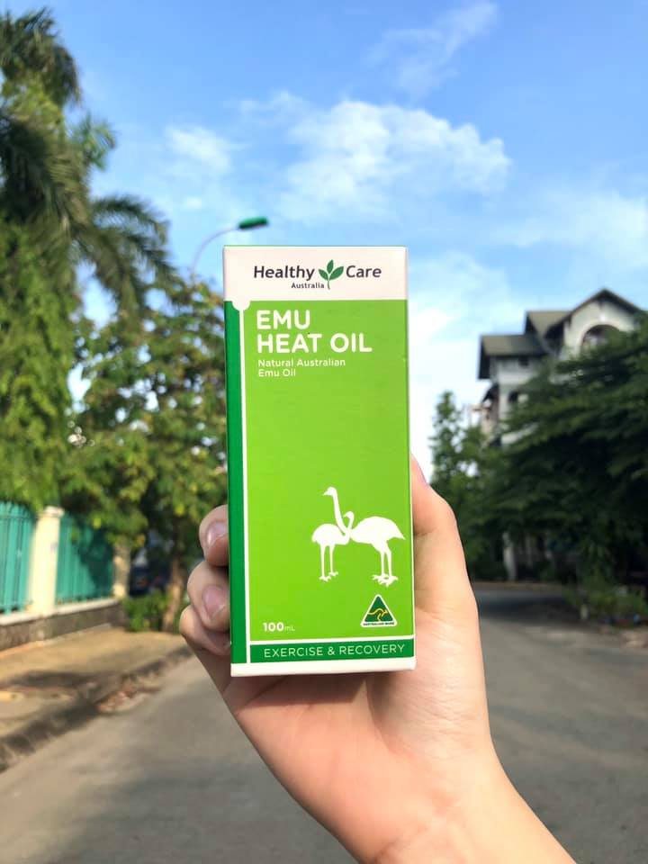 Dầu Đà Điểu Healthy Care Emu Heat Oil