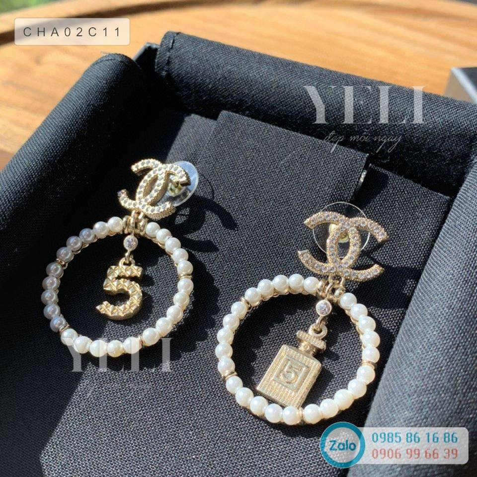 [ORDER] Chanel No.5 earring - Bông tai Chanel number 5